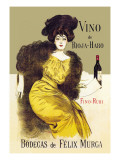 Vino de Rioja-Haro Wall Decal by Ramon Casas