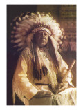 Thunderbird, Cheyenne Chief Wall Decal by Carl And Grace Moon