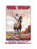 The Whip: The Wonderful Drury Lane Drama Wall Decal by Albert Morrow
