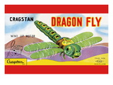 Cragstan Dragon Fly Wall Decal
