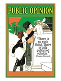 Public Opinion Wall Decal