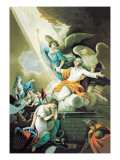 Ascension to Heaven Wall Decal