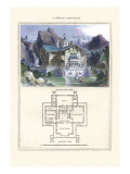 Swiss Cottage Wall Decal by Richard Brown