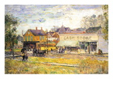 End of The Tram, Oak Park, Illinois Wall Decal by Childe Hassam