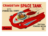 Cragstan Space Tank Wall Decal