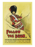 Follow the Drum Wall Decal by John Hassall