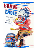 Brave Eagle Wall Decal