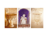 Sanctuary Triptych Wall Decal