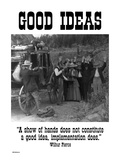 Good Ideas Autocollant mural par Wilbur Pierce