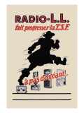 Radio, L.L.: Running Man Wall Decal