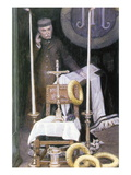 Wall Portrait of a Driver Wall Decal by James Tissot