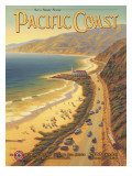 Pacific Coast Wall Decal by Kerne Erickson