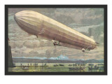 Zeppelin above Lake Constance Wall Decal