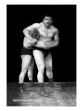 Wrestling Headlock Wall Decal