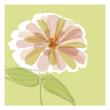 Soft Floral V Wall Decal