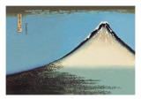 Mount Fuji Wall Decal by Katsushika Hokusai
