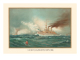 First Class Battle Ships Wall Decal by  Werner
