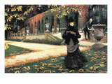 The Letter Came In Handy By Tissot Autocollant mural par James Tissot