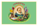 Cervantes Cigars Wall Decal