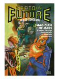 Captain Future Fires at the Magician of Mars Wall Decal