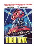 Robo Tank Wallsticker