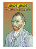 Go Go Van Gogh! Wall Decal