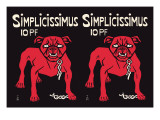 Simplicissimus Wall Decal by Thomas Theodor Heine