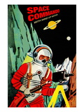 Space Commando Wall Decal