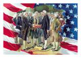 Washington's Inauguration as President Wall Decal