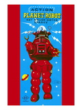 Action Planet Robot Wall Decal