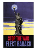 Stop the War, Elect Obama Wall Decal
