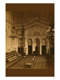 Masonic Hall - Philadelphia - Interior Wall Decal by Frederick Gutenkunst