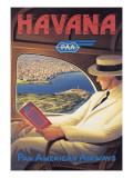 La Havane Autocollant mural par Kerne Erickson
