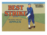 Pajaro Valley Apples: Best Strike Brand Wall Decal