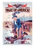 Wake Up, America! Wall Decal