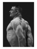 Flexing Triceps, Deltoids, and Trapezius Wall Decal
