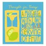 Serving of Fruit - Duvar Çıkartması