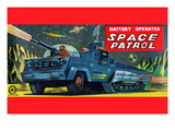 Space Patrol Wall Decal