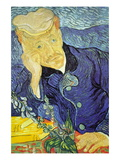 Dr. Paul Gachet Mode (wallstickers) af Vincent van Gogh