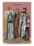 Russian Nobility, 19th Century Wall Decal by Richard Brown