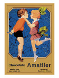 Chocolate Amatller: Barcelona Wall Decal