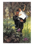 The Widower Wall Decal by James Tissot