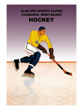 Hockey: Alpine Sports Club Wall Decal