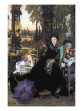 A Widow Wall Decal by James Tissot