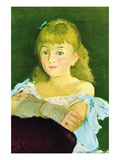 Portrait of Lina Campineanu Wall Decal by douard Manet