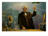 Thomas Alva Edison Wall Decal