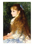 Irene Cahen D Anvers Wall Decal by Pierre-Auguste Renoir