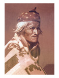 Navajo Patriarch Wall Decal by Carl And Grace Moon