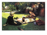 In The Sun Wall Decal by James Tissot