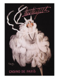 Mistinguett: Casino de Paris Wall Decal by Charles Gesmar